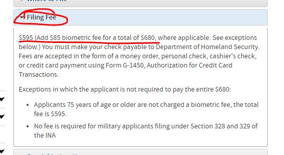 iporada-citizenship fee