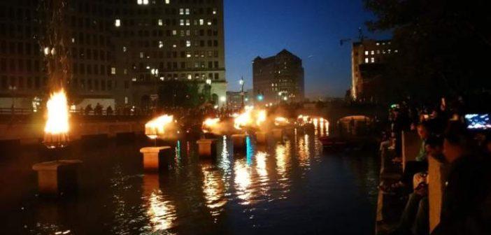 Фестиваль вогнів на Род-Айленді